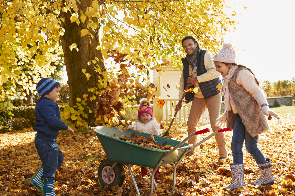 Fall_family_raking_leaves